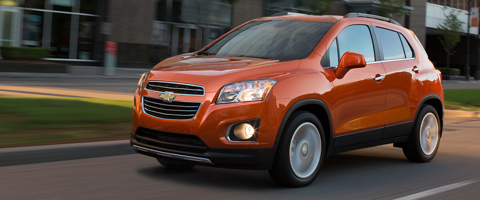 2015 Chevy Trax Appearance Image