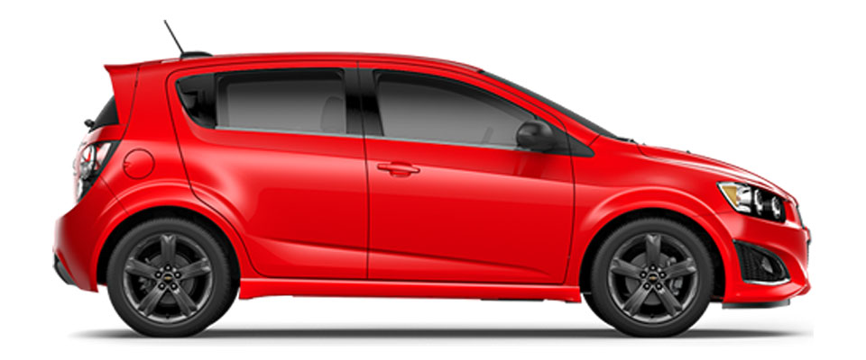 2015 Chevy Sonic Hatchback Overview Image