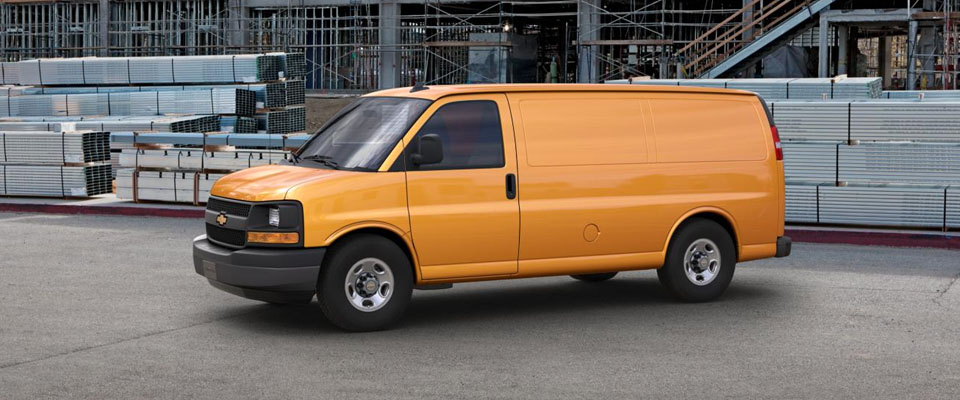 2017 Chevy Express Cargo Appearance Image